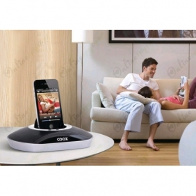 16GB HD Spy Camera DVR 1280X720  Hidden Pod/Phone Charging Dock Speaker