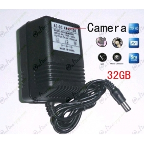32GB Charger Hidden HD Bedroom Spy Camera DVR 1280X720 Motion Activated And Remote Control