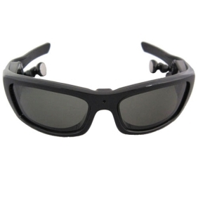 4GB Spy Sunglasses with Detachable Earphone + MP3 Player