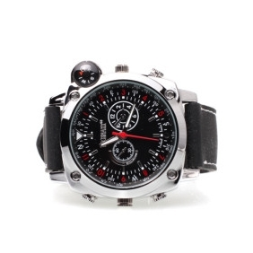 4GB Spy Waterproof  Watch 4GB Camera With Extra Compass