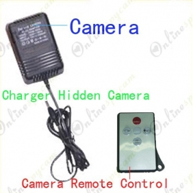720P Charger Spy Hidden Camera DVR With Motion Detection Function 16GB