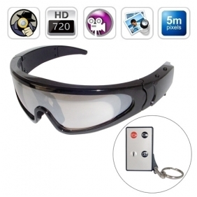 Discount 720P HD Spy Sport Glasses Digital Video Recorder with Remote Control(16GB)
