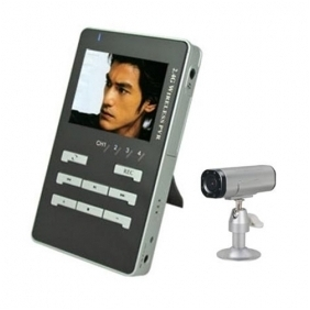 CMOS Wireless Spy Camera  and Receiver With Screen