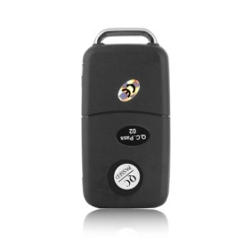 Carkey Spy Cam Mini DV with HD Camera + Mobile Detection