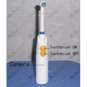 Electric Toothbrush HD Pinhole Camera Bathroom Spy Camera DVR 32GB 1280X720