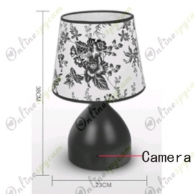 European-style Desk Lamp Camera Hidden Pinhole Spy Camera DVR 16GB And Remote Control (Motion Activated)