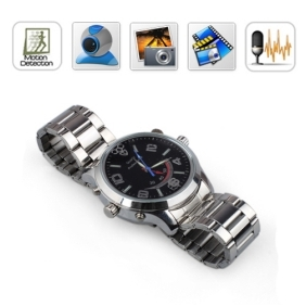 HD 4GB Spy Watch Cameras with Motion Detection Voice Recording Function /Hidden Camera