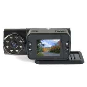 "5M CMOS 2.5"" LCD Screen HD Night Vision DVR with 800MA Rechargeable Battery"