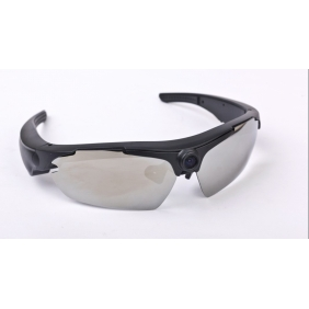 720P Sport Glasses With Hidden Spy Camera,HD Sunglasses Camera