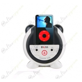 Hidden Camera DVR 16GB 720p The piglets Speaker Sound Pod/Phone Charging Dock HD