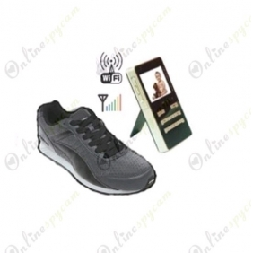 Hidden Spy Shoes Camera-Wireless Spy Shoe Camera
