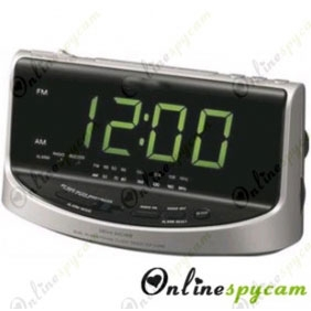 Hidden Spy HD Camera DVR 16GB 1280X720 Alarm Clock Radio