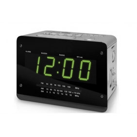 Home Security Alarm Clock Radio Hiden HD Spy Camera DVR 16GB