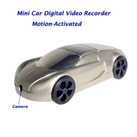 Motion Activated Mini Car Model Digital Video Recorder Hidden Pinhole Color Camera
