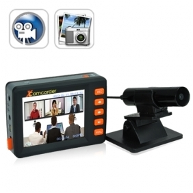 Spy 2.5 Inch Motion Activated Mini DVR Video Audio Recording System  Camcorder with Separate Camera Kit