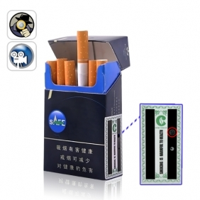 Mini Voice Activated SPY DVR Cigarette Case (4GB)