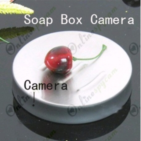 Motion Activated 720P HD Soap Box Bathroom Spy Camera DVR 16GB Remote Control ON/OFF