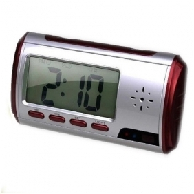 New Red Clock Camera 1280*960 with Video Photo Motion Detection and Remote Control Function