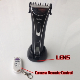 Remote Controller Hair Trimmer Spy Camera HD 720P Hidden Camera 32GB Real Working Trimmer