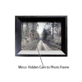 32GB Photo Frame Micro Hidden Camera with Motion Detection