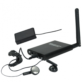 Professional Grade Long Distance Audio Bug with Phone Transmitter