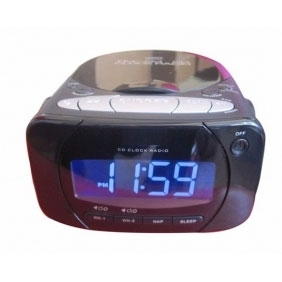 CD Clock Radio Hidden HD Spy Camera 1280X720 16GB