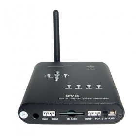 Motion-Activated 2-channel Real Time Mini DVR Box