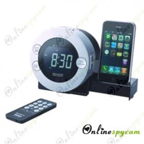 Remote Control Alarm Clock Hidden Spy HD Pinhole Camera DVR 16GB 1280x720