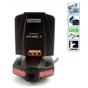 "Car DVR Black Box - 2.4"" Vehicle IR Video Camera"