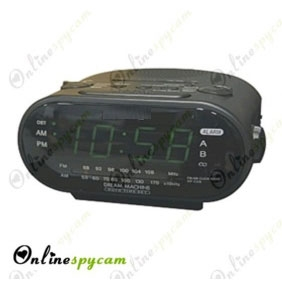 Alarm Clock Self Contained Spy Camera/DVR