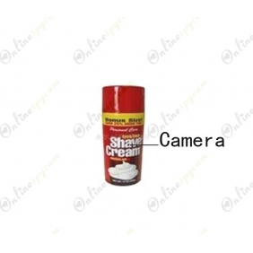 Shaving Cream Camera Pinhole Bathroom Spy Camera DVR 16GB HD 1280X720