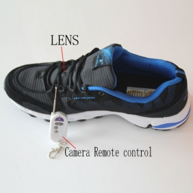 Shoes Spy Camera With Remote Control HD Spy Camera In Sport Shoe 32GB