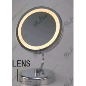 Single Mirror With Lights Hidden Spy Pinhole HD Camera DVR 1280x720 16GB