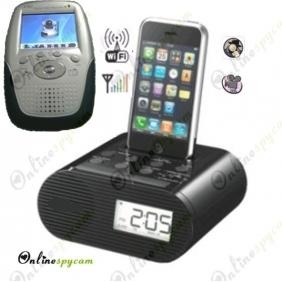 Alarm Clock Wireless Spy HD Camera -2.4Ghz Wireless Camera with Receiver