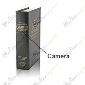 Spy Book Hidden HD Spy Camera DVR 16GB 1280X720
