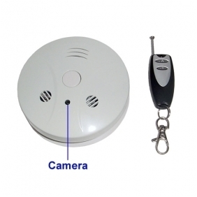 Spy Camera Smoke Detector 4GB Spy DVR with Remote Control Hidden Camera DVR