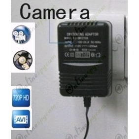 Spy Charger Hidden Remote Control HD Pinhole Spy Camera DVR 16GB 1280X720 (Motion Activated )
