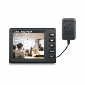 Spy Mini DVR 2 - Botton Camera + DVR System - D1 720 x 576