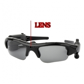 Spy Sunglasses Camera With MP3 FM Bluetooth 4GB Memory/Hidden Camera