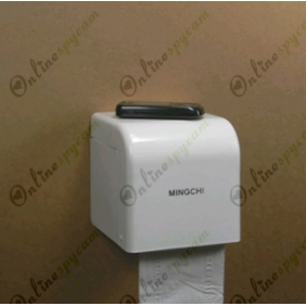 Spy Toilet Tissue Box Hidden HD Pinhole Spy Camera 16GB 1280x720(motion activeated)