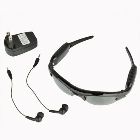Sunglasses Spy Camera DVR with and MP3 Photo Taking function 4GB Memory/Hidden Camera