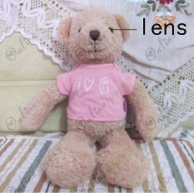 Teddy Bear DVR Spy Hidden Camera with Motion Sens VGA 16GB
