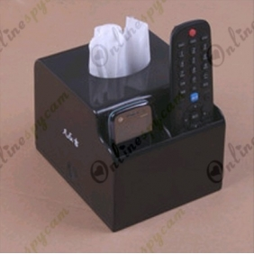 Tissue Box Hidden HD 1280x720P Pinhole Spy Camera 16GB(Motion Detection)