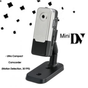 Ultra Compact Camcorder Necklace Camera Motion Detection 30 FPS 640x480