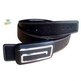 WIFI Belt Buckle Wearable Spy Camera For Android and iOS