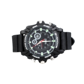 IR Night Vision Wristwatch Camera With 16GB Memory+HD Camera, DVR Video Camcoder