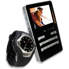 Watch Spy Camera With Wireless Receiver Professional Spy Camera
