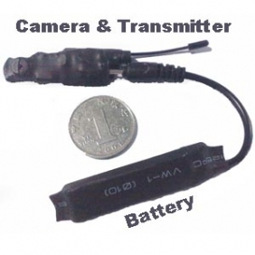 2.4ghz Wireless Camera Transmitter The Samllest Camera in Size