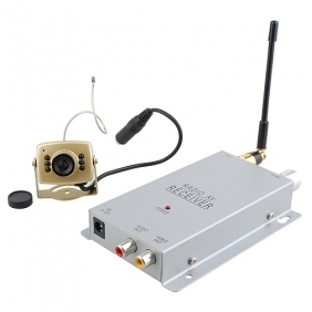 2.4G Wireless Night Vision Camera and Receiver Set