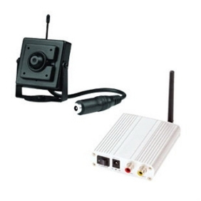 Wireless Receiver and 1/4 inches CCD Vision Wireless Camera